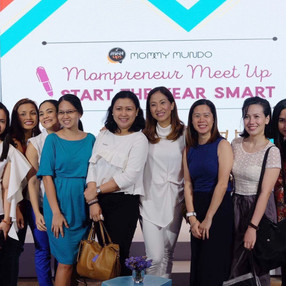 Starting the New Year with Mompreneurs!