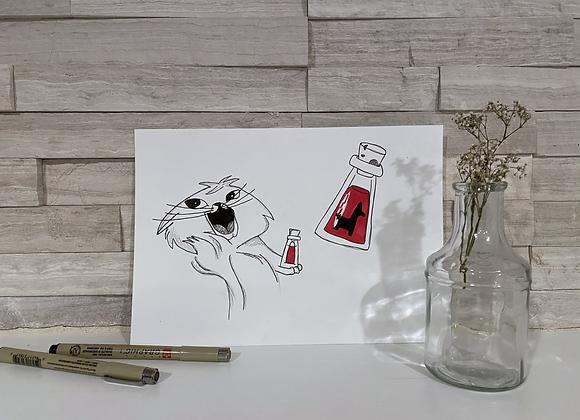 Yzma Drawing