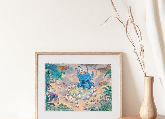 Original Stitch Painting