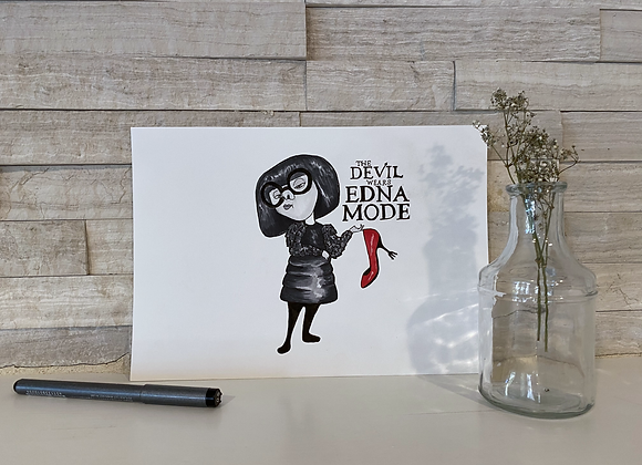 Edna Mode Drawing