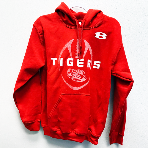 Red Belton Football Sweatshirt