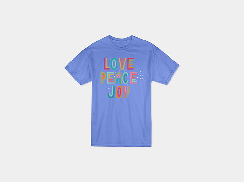 Love Peace & Joy Tee