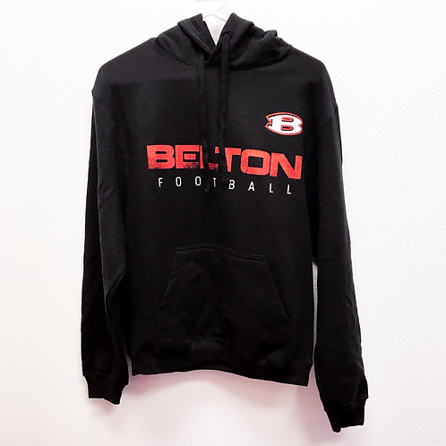 Black Belton Football Sweatshirt