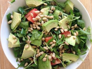 Fresh Garden salad with Lemon & Oil dressing
