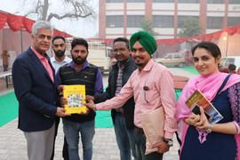 Cultural Festival and Book Exhibition at Punjabi University, Mata Sundri College, Mansa