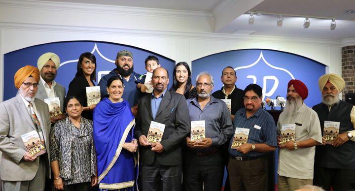 "9th Sep 2017 Shingara Singh Sanghera's ""ਨੂਰ ਮਹਿਲ ਦੇ ਅੱਡੇ"" book release"