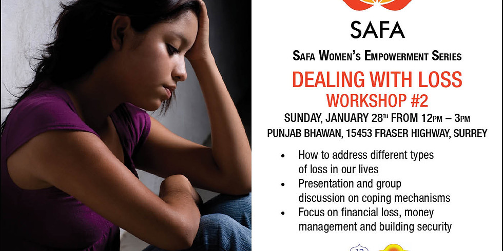 """Workshop on """"Dealing with loss"""""""