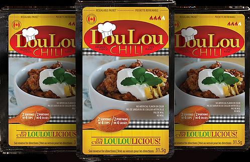 Lou Lou Super Packs | Chili | FREE SHIPPING