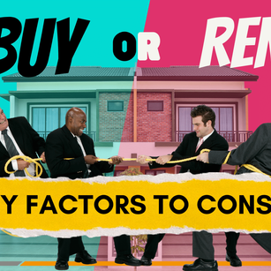 Should I Rent a House or Buy Property?