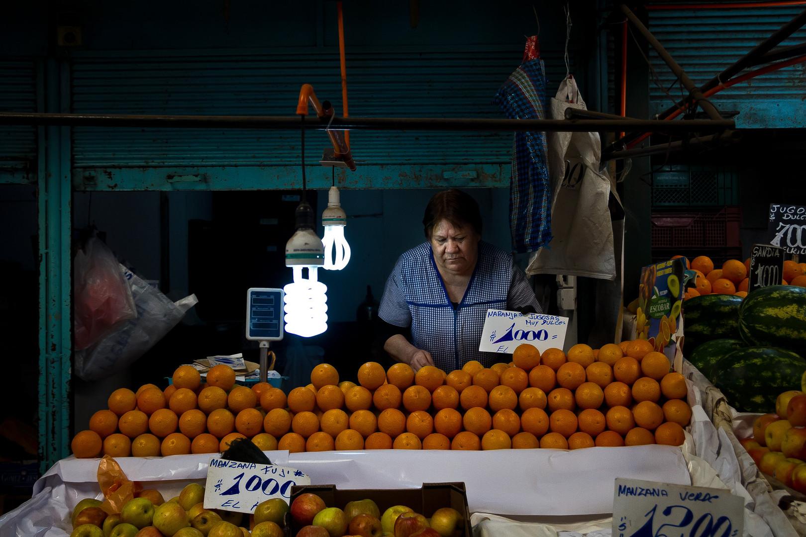 La vendedora de naranjas
