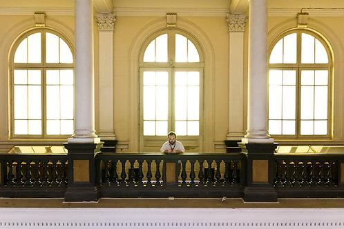 El hombre del museo