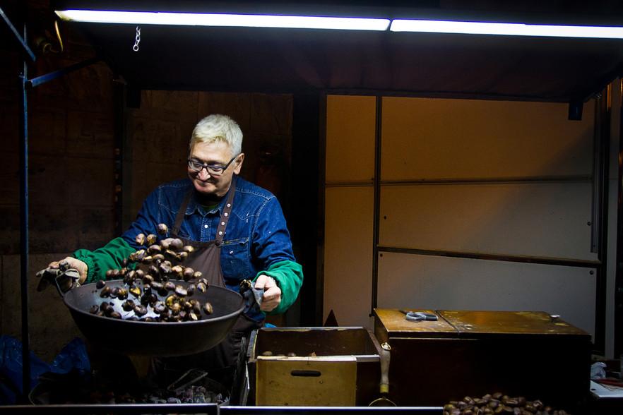 El vendedor de castañas
