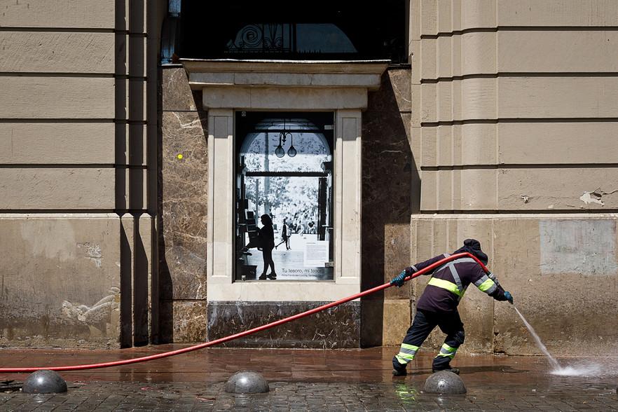 El limpiador de la calle