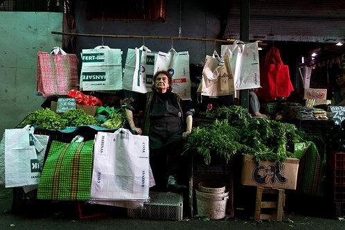 La vendedora de lechugas