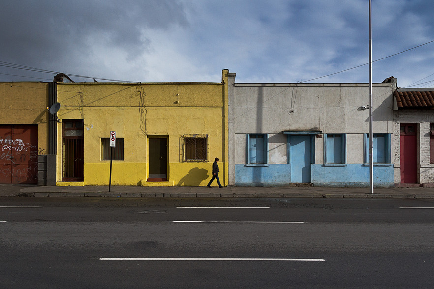 Casas de la calle Mapocho