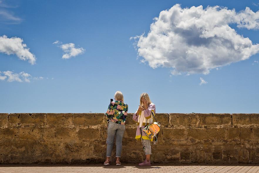 Las turistas del móvil
