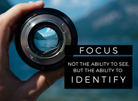 BE FOCUSED by Keith Tucci