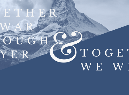 April Prayer Focus