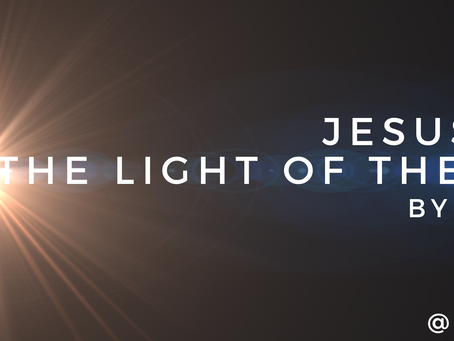 Jesus Is Not The Light of The World