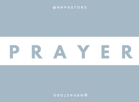 Prayer Focus--October