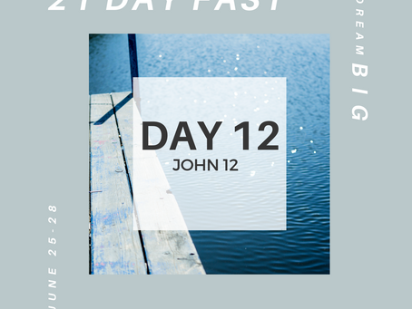 21 Day Fast::Day 12