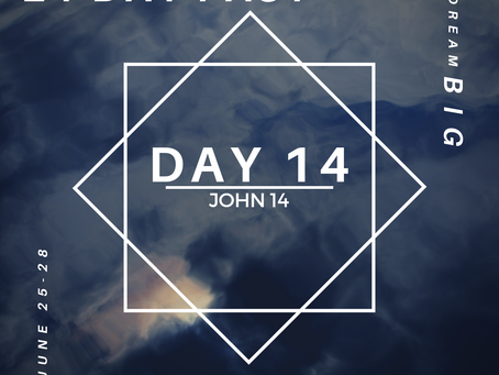21 Day Fast::Day 14