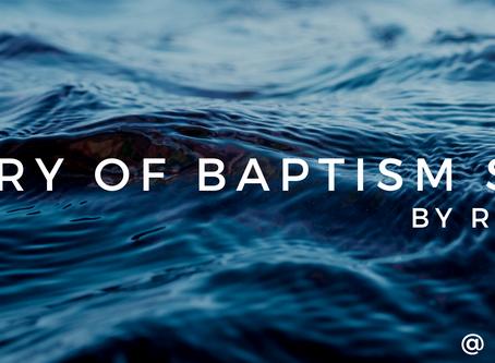 A Story of Baptism Sunday