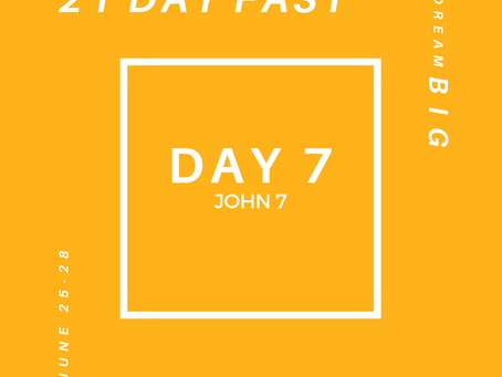 21 Day Fast::Day 7
