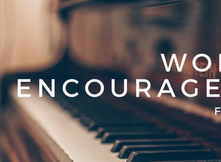 Worship Encouragement-  Feedback