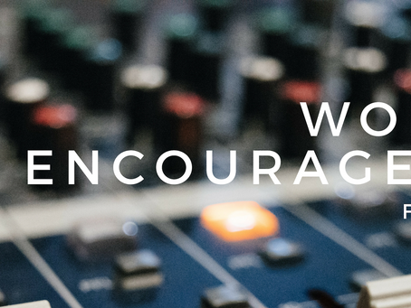 Worship Encouragement-- Planned Spontaneity