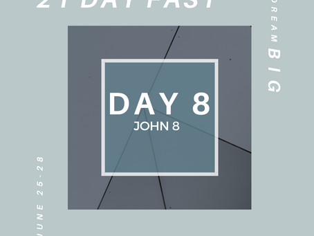 21 Day Fast::Day 8
