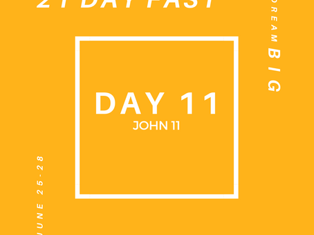 21 Day Fast::Day 11