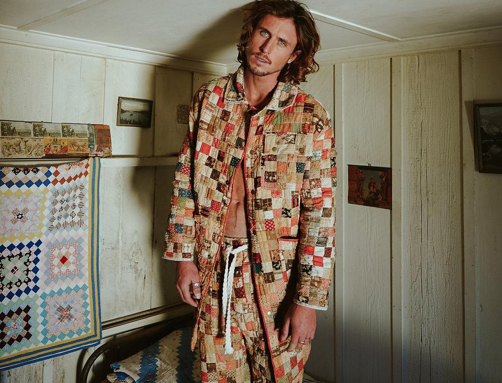 Claire McKarns' One Patch Quilt Coat