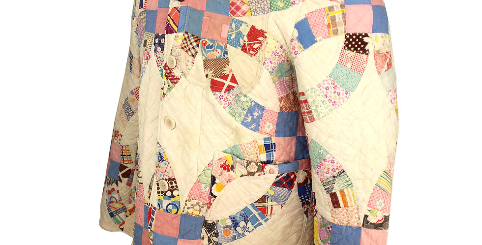 White Wedding Quilt Jacket