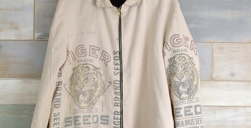 Tiger Seeds Advertising Seed Sack Jacket