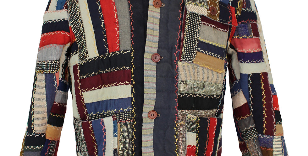 Wool Square Patch Quilt