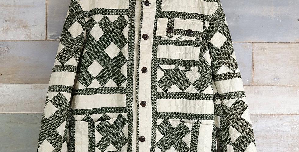 c.1900 Four Cross Quilt Work Jacket