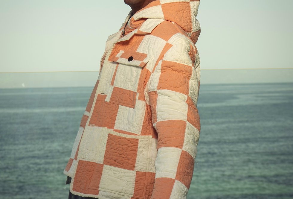 9 Patch Sherbet Quilt Jacket
