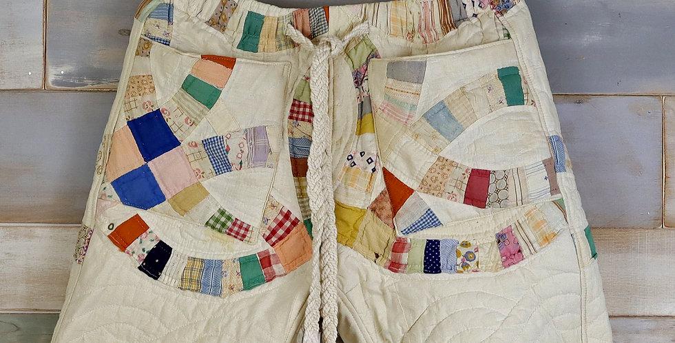 John and Cindy's Wedding Quilt Shorts (M/L)