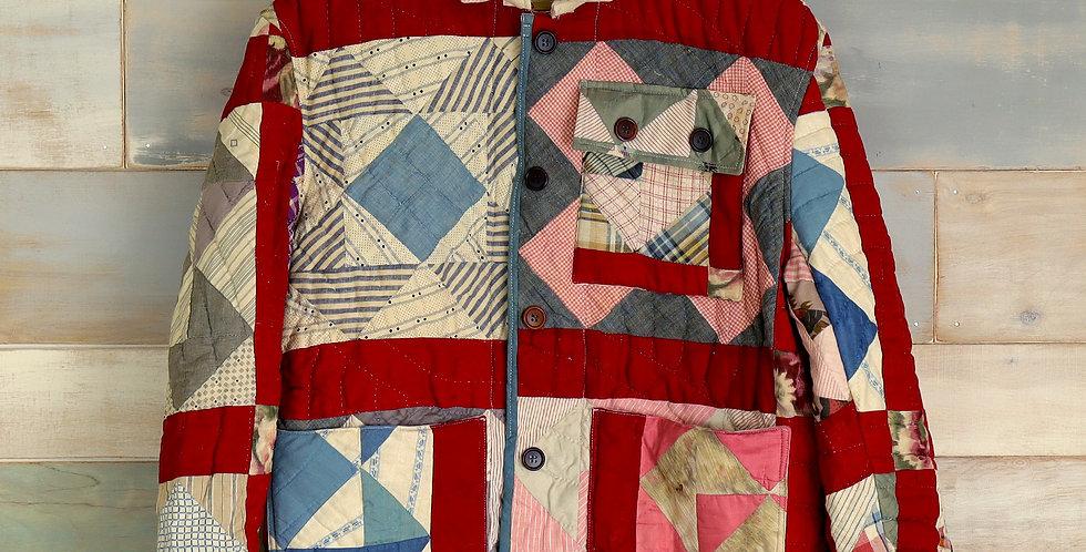 1920 5-Patch Quilt Jacket
