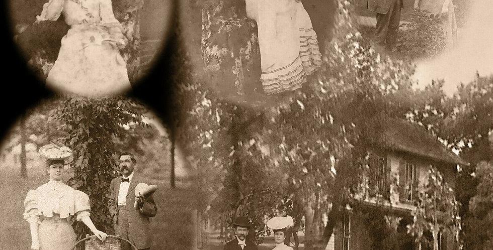 Cecelia Zirkelbacks 1906 Mariners Compass Quilt