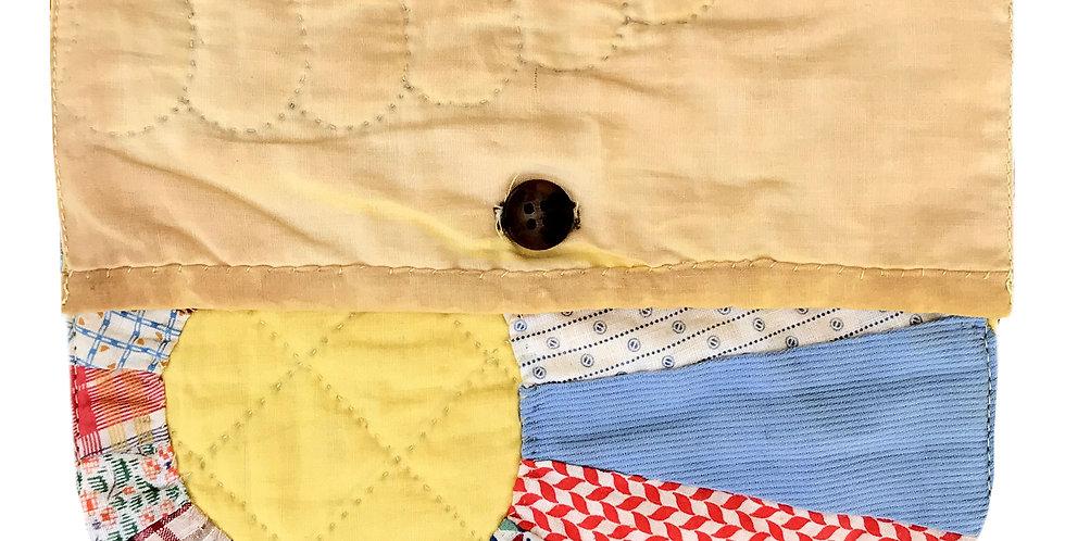 Vintage Quilt Pouch