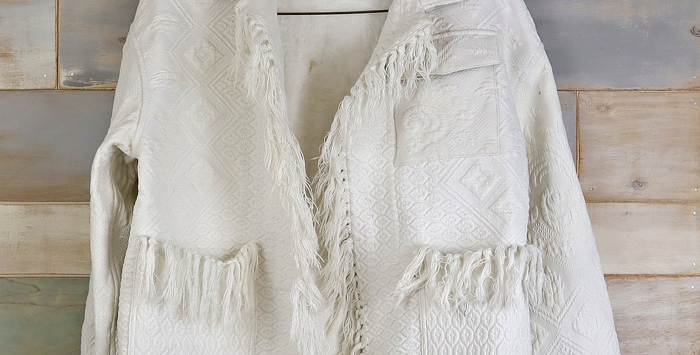 c.1800sFrench Coverlet Jacket (L)