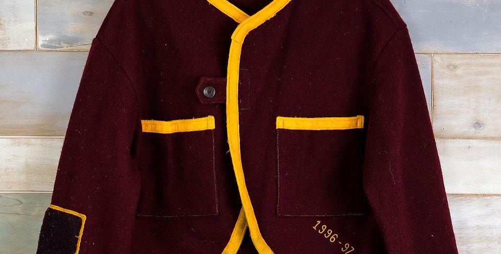 """A"" Stadium Blanket Cardigan Jacket (M)"