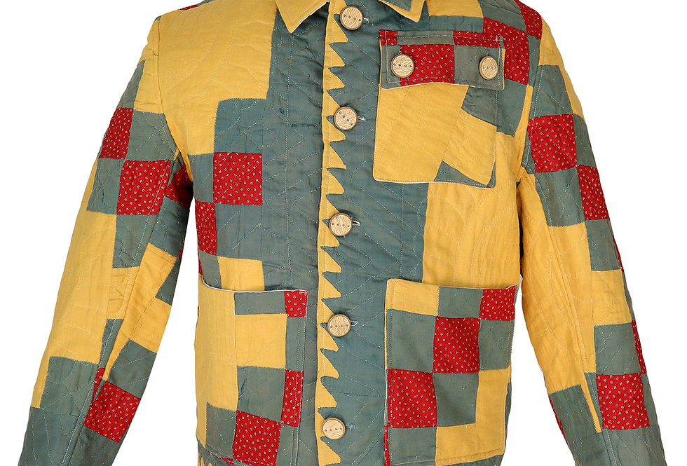Medallion Quilt Jacket