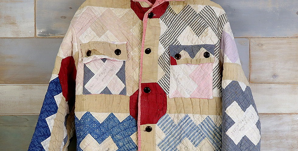 Claire Weidemier McKarns Friendship Quilt Jacket (S/M)