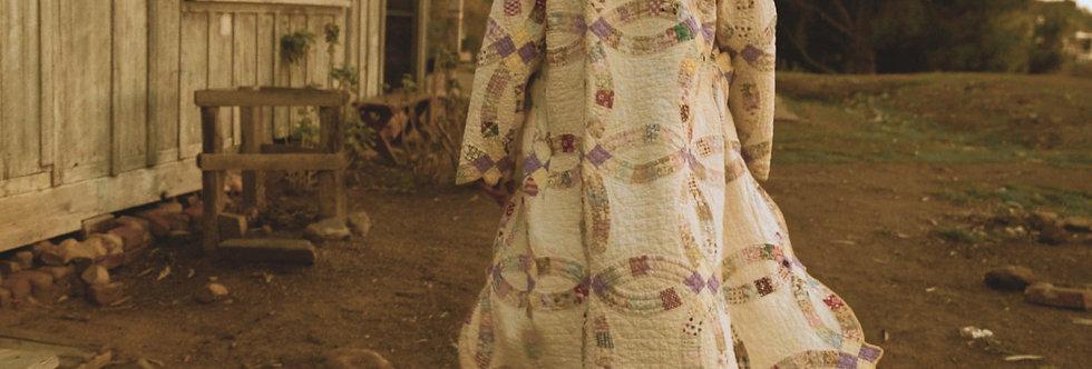 John and Cindy Wedding Quilt Long Coat (L)