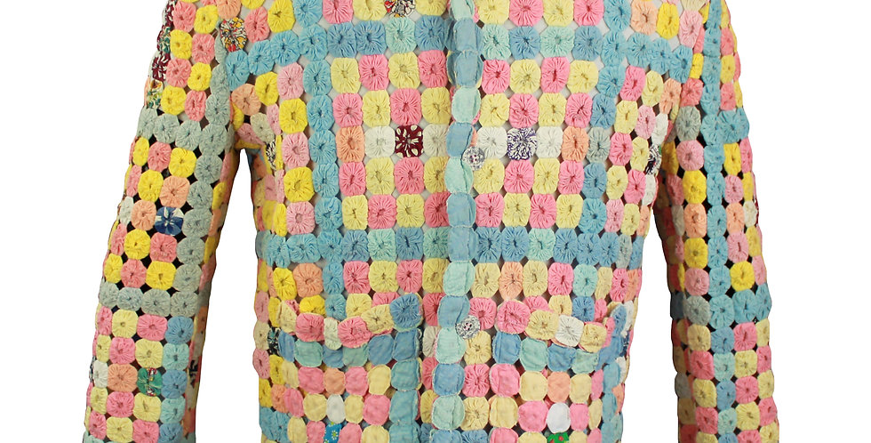 YoYo Quilt Jacket