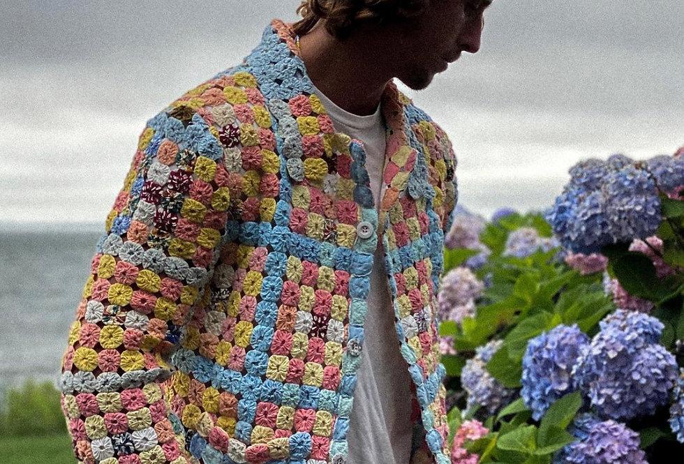 YoYo Quilt Overshirt Jacket (M/L)