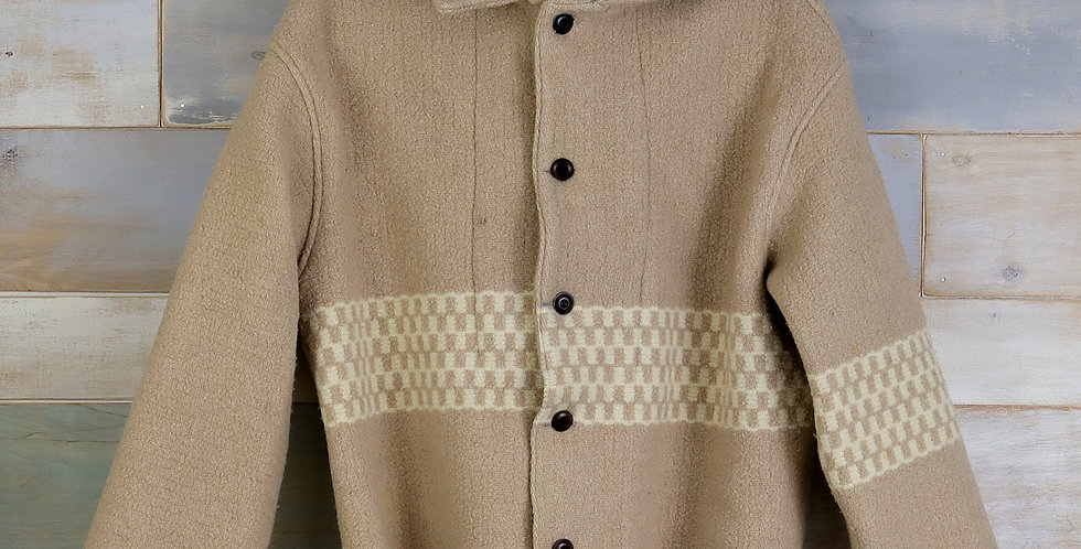 Kingsport Checkered Wool Camp Jacket (M)